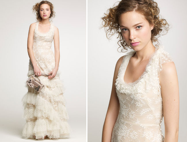 JCrew Fall 2010 Wedding Dresses