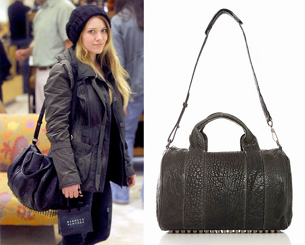 hilary duff stole my dream bag glitter inc. Black Bedroom Furniture Sets. Home Design Ideas