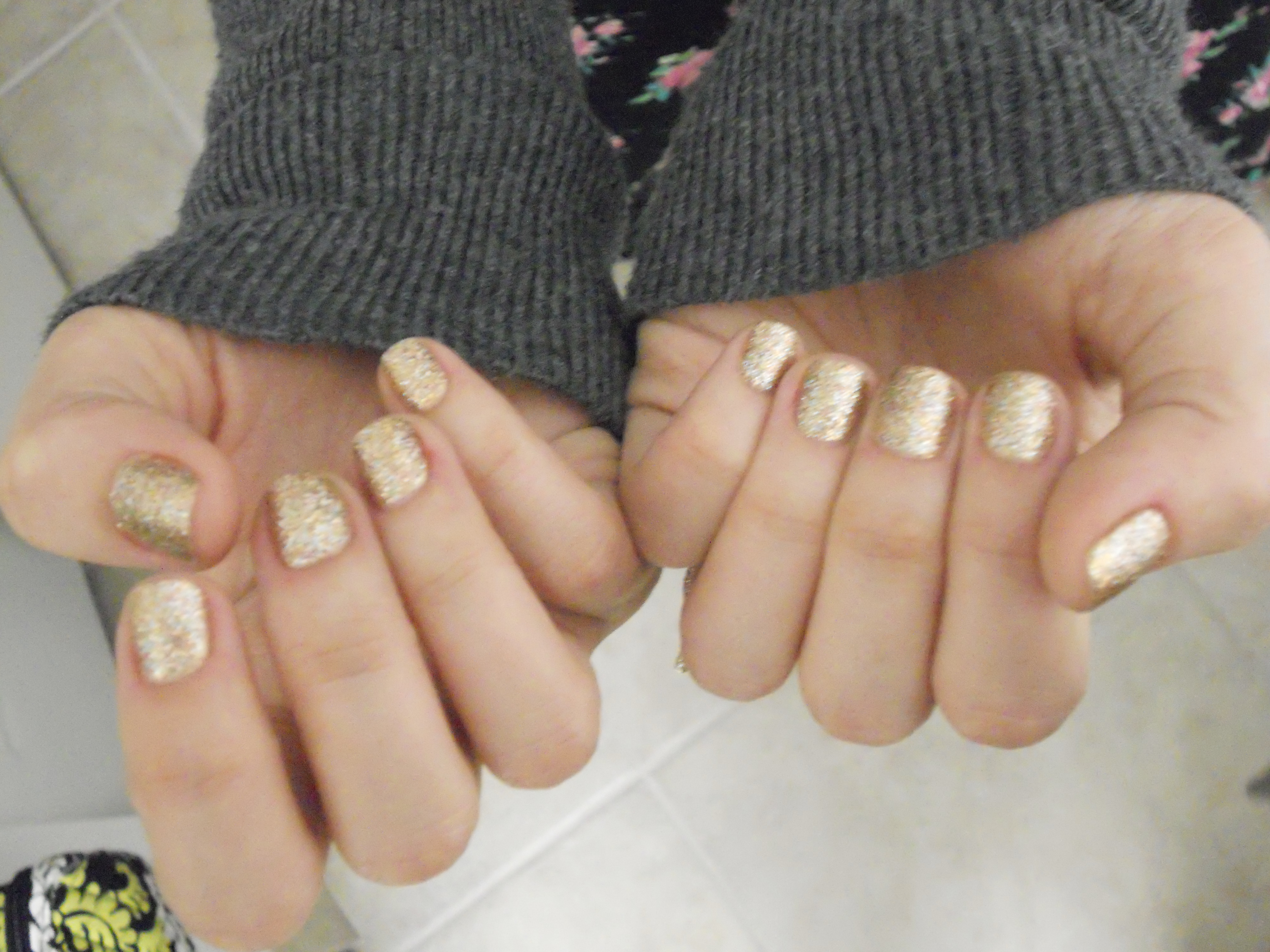 Fashion style Opi bling on the bring for lady