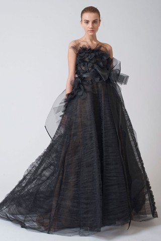 I desperately wanted to wear a black wedding dress for about 3