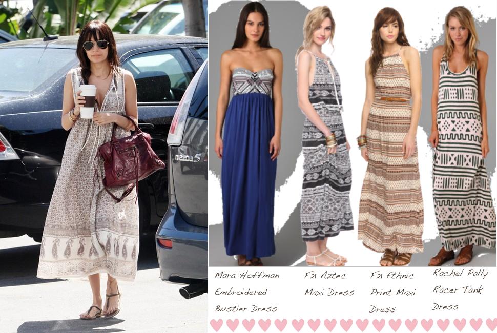 Ethnic Print Maxi Dress - Glitter- Inc.Glitter- Inc.