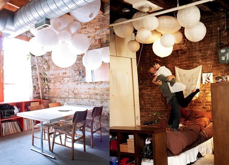 Indoor Decorating With Paper Lanterns | Glitter, Inc.