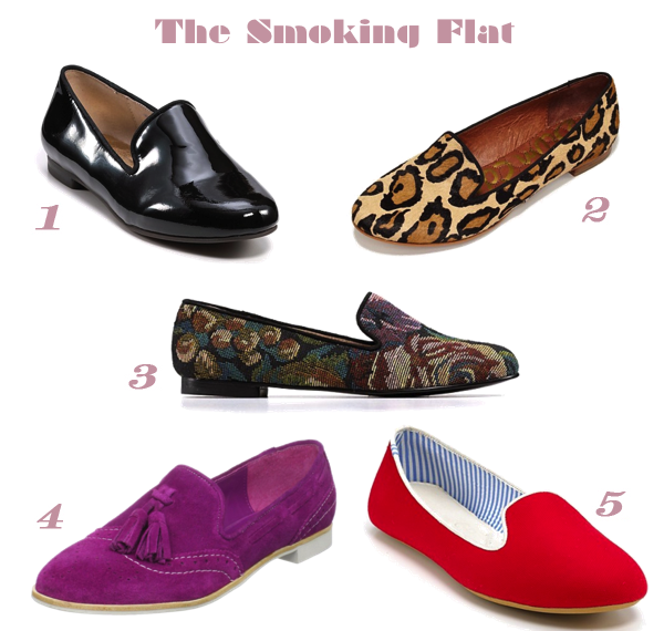 The Smoking Flat {Loafers}