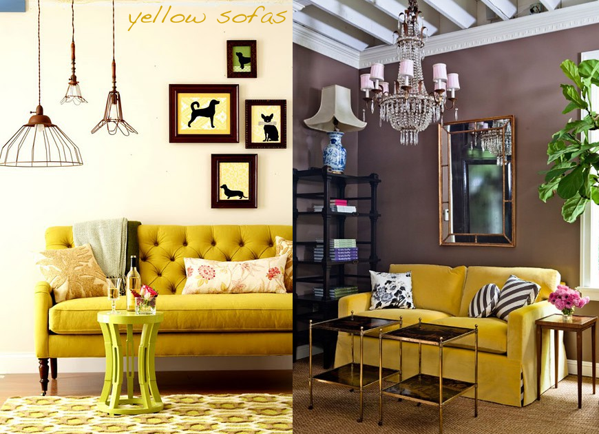 Decorating With Yellow Glitter Inc