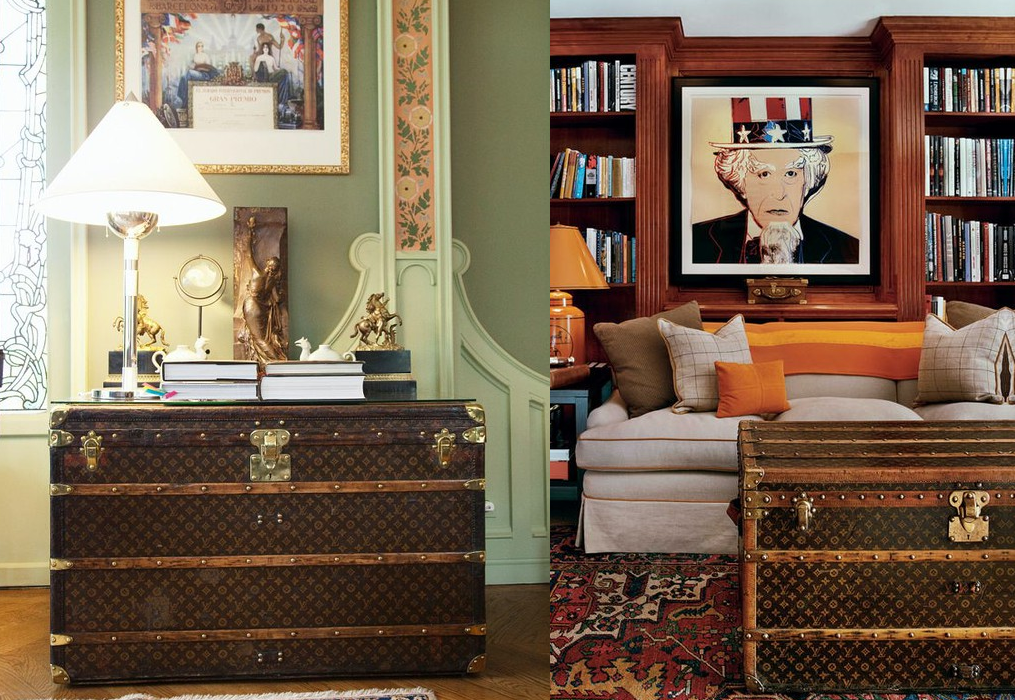 Lv Steamer Trunks In The Home Glitter Inc