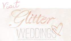 glitter weddings